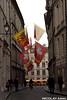 Streets of Geneva's Old Town (Nicolay Abril) Tags: geneva genève genf ginevra genevra ginebra suiza schweiz suisse svizzera svizra schwiz svìzzera banderas fahnen drapeaux flags street calle callejón ruelle ruedelhoteldeville vieilleville vieillevilledegenève lanterne laternen lanternes lanterns faroles lampposts lampioni farolas lampadaires