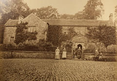 """Mystery stone-built house """"I. T. 1838"""" (whatsthatpicture) Tags: stone house cobbles family 1838"""
