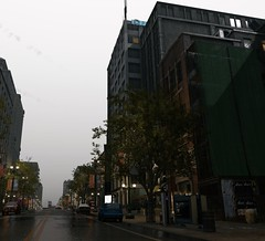 Dat sky :) (Brandon ProjectZ) Tags: watchdogs chicago rain windy overcast buildings fall sky natural lighting trees roads