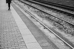 untitled (gregor.zukowski) Tags: warsaw warszawa mordor mordornadomaniewskiej peopleinthecity candid street streetphoto streetphotography bw blackandwhite geometry legs monochrome fujifilm