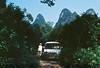 (louis de champs) Tags: minoltasrt101 kodakektar100 pushed400 china xingping van track forest