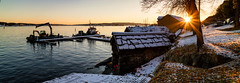 Norsk Maritimt Museum, Oslo, November 15, 2017 (Ulf Bodin) Tags: canonefm222stm hav bygdøy maritimtmuseum outdoor panorama sea norway kust canoneosm3 norge sunset solnedgång seascape coast landscape oslo no jetty boat sky water