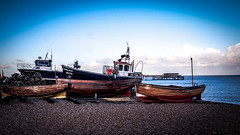 Boats... (MickyFlick) Tags: beach shore coast deal kent england uk