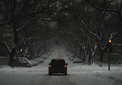 street (photoksenia) Tags: sony ilce7m2 street road odessa intersection crossroad winter snow car