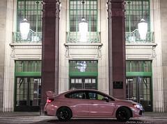 Subaru STI (FollowFiend) Tags: subaru canada sti night photography cne black rims turbo boost toronto