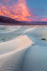Western Surprise (Kirk Lougheed) Tags: california deathvalley deathvalleynationalpark mesquitedunes mesquiteflat usa unitedstates dawn dune dunes landscape nationalpark outdoor park sand sanddune sunrise