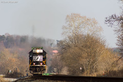 On the Nose (nrvtrains) Tags: intermodal christiansburgdistrict sunny greenhill covehollowrd 201 norfolksouthern elliston virginia unitedstates us