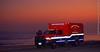 Sunset Posting (Stretcher Monkey Photography) Tags: ems emt paramedic ambulance frazer dodge emergency sunset ocean gulf