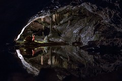 Switzerland 2017 (Like a Swan) Tags: canon600d canont3i reflection nature light darkness water cave swiss