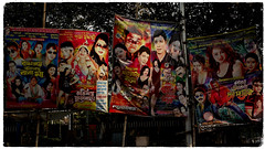 (ben oït) Tags: posters affiches cinema calcutta kolkata