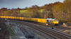 GBRf Class 66/7 no 66766 at Clay Cross on 07-12-2017 with empties bound for Mountsorrel (kevaruka) Tags: britishrail englishelectric networkrail claycross class20 class66 gbrf derbyshire trains train transport railfreight railway autumn winter 07122017 december sun sunshine sunny twilight dusk colour colours yellow blue orange green england countryside canon canoneos5dmk3 canon5dmk3 canon70200f28ismk2 5d3 5diii 5d 5dmk3 choppers locomotive composition fullframe telephoto telephototrains