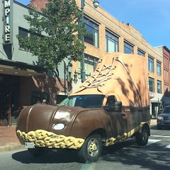 portland :: bean.boot.mobile (origamidon) Tags: llbean boot bootmobile street streetscape commercialst portlandmaineusa portland maine me usa 04101 cumberlandcounty donshall origamidon square sq