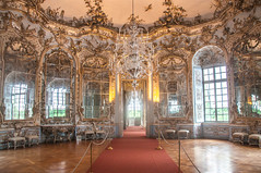 Hall of Mirrors (Tony Shertila) Tags: 20170827105036 germany nymphenburgpalace schlossnymphenburg wittelsbach amalienburg architecture baroque bavaria building canal clouds estate europe fountain gardens indoor lake munchen munich palace sky woodland münchen bayern deutshland rococo huntinglodge mirror window deu