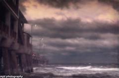 Pier Mystery (mjdrhd) Tags: pier ocean waves seascape clouds beach oceanview outerbanks