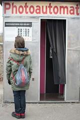 Photomaton en Berlín (Monica Fiuza) Tags: mauerpark photomaton berlín viaje