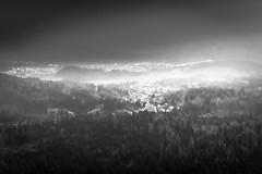 Views from Srnjak, Logatec (rlubej) Tags: notranjska hillsmountains fog