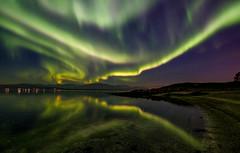 night sky above Tromsø (John A.Hemmingsen) Tags: aurora borealis tromsø troms fujifilm xt2