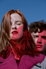 (▲·stardust) Tags: couple two redhead redhair redlight sunlight atmosphere mood wind hair
