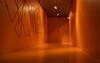Orange (Explored December 6, 2017) (Anne Worner) Tags: anneworner bergen kode kode4 lysverket norway architecture ceiling displaylightsart door floor hallway indoors interactiveart museum walls olympus em5