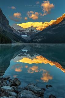 Calm morning at Lake Louise