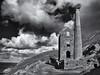 Wheal Coates tin mine (Tim Ravenscroft) Tags: tinmine whealcoates cornwall coast hasselblad hasselbladx1d x1d blackandwhite blackwhite monochrome