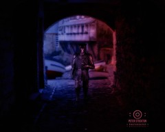 the hound clovelly (kapper22) Tags: hound game thrones clovelly tunnel photoshop lights outdoor indoor