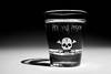 Diaz_still_life_img13_R1 (mdiaz_escobar24) Tags: stilllife blackandwhite shotglass skull
