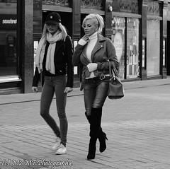 Leeds ladies leading with long legs (The friendly photographer.) Tags: briggate brilliant british britain blackandwhite bw biancoenero beauty beautiful blancoynegro blanco blancoenero candid city citycentre d7100 dark england enblancoynegro ennoiretblanc flickrcom flickr google googleimages gb greatbritain greatphotographers greatphoto image inbiancoenero images interesting leeds ls1 leedscitycentre lady ladies mamfphotography mamf monochrome nikon nikond7100 noiretblanc noir northernengland negro onthestreet photography photo pretoebranco photographer photograph people person schwarzundweis schwarz street uk unitedkingdom upnorth urban westyorkshire yorkshire zwartenwit zwartwit zwart