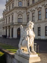 Upper Belvedere Palace (Fizzik.LJ) Tags: austria architecture palace vienna österreich sculpture wien