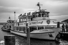 Boat Trip (bnw_fk) Tags: boat boattrip germany see sea lake black blackandwhite