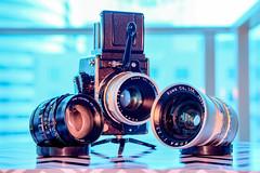 Kowa/SIX and Lenses (bior) Tags: kowa6 kowasix kowa camera lens gear