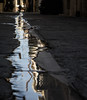 From the photographer with wet knees... (Cirrusgazer) Tags: crete rethymno reflection reflections rippled street streetphotography water wet stream