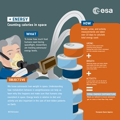 ENERGY experiment: infographic (europeanspaceagency) Tags: paolonespoli enery experiment food spaceflight research internationalspacestation
