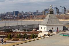 Growing Kazan (skboris) Tags: architecture district kazan kazanka kirovsky kremlin river taynitskaya tourism tower respublikatatarstan russia ru