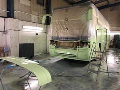 K40CAP repainted again? (spotterboy2001) Tags: k40cap k40 cap roselyn devon cornwall par plymouth girlings volvo b9m b9 capital coaches london