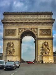 Paris  France ~  Porte Saint-Denis  ~ Historic Monument