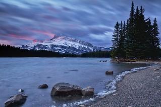 Dawn Light on Mount Rundle