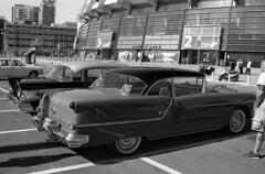 88 (Ilya.Bur) Tags: nikon fe nikkor 35105mm f3545 apx 100 caffenolcl oldsmobile 88 1954 film analog bw vintage vehicle car monochrome