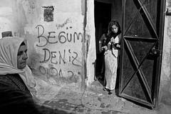 Generations - Tarlabaşı, Istanbul (Tilemachos Papadopoulos) Tags: qoq turkey urban fuji fujifilm fujinon outdoor istanbul mono monochrome portrait people abandoned street decay xe2 bw blackandwhite mirrorless