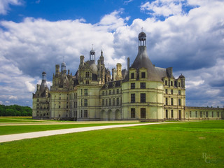 Clouds over Chambord