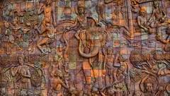 When men become gods (J316) Tags: j316 mosaic terracotta doiinthanon thailand sony a77 chiangmai culture buddhism buddha elephant