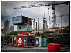 Shaping Up (PEN-F_Fan) Tags: mft hdr microfourthirds newzealand mirrorless fujiasstia100e containers constructioncrane dxoviewpoint filmlook exposurex3 northisland sky raw skytower type street preset olympuspenf olympusmzuiko12100mmf40pro pencamera postprocessing photoborder aurorahdr2018 alienskinexposure alienskin camera colorfilmsslide clouds cityscape auckland nzl sign road building
