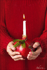 1. Advent (sch.o.n) Tags: bright burning candle candlelight celebration christmas color cone dark decor decoration design diet festive fir fire flame food fresh fruit gold golden green hand health healthy holding holiday leaf light natural nature object organic ornament pomegranate present red rustic season sweet traditional tropical vegetarian watercolor white winter xmas advent