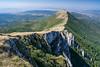 The Ridgeline (Milos Golubovic) Tags: suva planina srbija trem niš dry mountain sokolov kamen landscape ridge pano panorama ridgeline crest green ngc