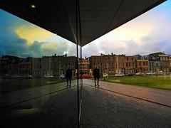 This is Delft too (JoséDay) Tags: delft reflection station nikoncoolpix nikoncoolpixp500 nikonflickraward coolpixp500 flickrstars urbanlife reflections refletir réflexion reflexión window totalphoto photoclub creativeuniverse perfectcompositiongroup streetlife