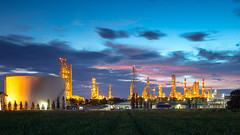 Petrochemical plant (Oil refinery) industry (Patrick Foto ;)) Tags: blue building chemical chemistry color complex concept copyspace duct dusk energy engine engineering environment environmental equipment facility factory fuel gas green heavy high industrial industry iron landscape machine machinery metal nature oil outdoor petrochemical petroleum petrolium pipe pipeline piping plant power production refinery silver sky station steel structure sunlight sunrise sunset tanks technology tower tree tube tambonhuaipong changwatrayong thailand th