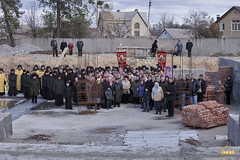 53. Закладка собора в г. Святогорске 01.11.2009