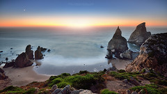 Wild Coast (FredConcha) Tags: wildcoast sinta cabodaroca rocks beach rochedos sunset moon landscape nature ursa naturalpark praiadaursa cliffs fredconcha nikon d800