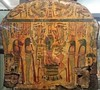 20171118_124130 (enricozanoni) Tags: egyptian art fitzwilliam museum cambridge ancient egypt statues sarcophagi musical instruments cat stele frescoes hieroglyphics shabti sculpture statue