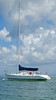 A Good Day For Sailing (soniaadammurray - Off) Tags: digitalphotography sky clouds sea water boating sailboat sailing quote terriguillemets imagine imagination nature martedidinuvole martesdenubes nicewonderfultuesdayclouds exterior